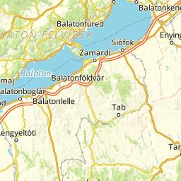 balaton térkép városokkal Cartographia   Balaton I. II. Aktív térkép   funiQ balaton térkép városokkal